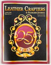 Leather Crafters and Saddlers Journal/Magazine - Jan / Feb 2016