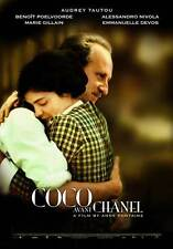 COCO AVANT CHANEL Movie POSTER 27x40 C Audrey Tautou Beno t Poelvoorde