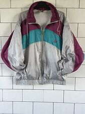 VINTAGE RETRO OLD SCHOOL FESTIVAL 80'S PUMA SHELL SUIT JACKET WINDBREAKER #36