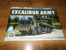 Excalibur TATRA Military Trucks Range Brochure Prospekt Catalogue Depliant