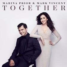 MARINA PRIOR & MARK VINCENT TOGETHER CD NEW