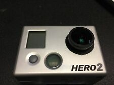 GOPRO HD HERO2 USED MODIFIED INTERCHANGEABLE THREAD IN LENS MACRO FOCUS ABILITY