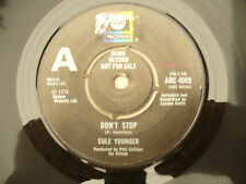 COLE YOUNGER DON'T STOP / CALL ME uk demo / promo abc 4009