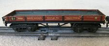 Marklin O-Gauge/ Scale 1930's Niederbordwagen (Low Side Freight Car) RARE 1848/0