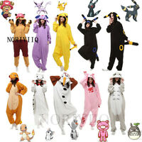 New Pokemon Go Onesies Adult Unisex Kigurumi Cosplay Costume Pyjamas Pajamas