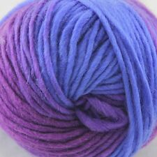 SALE LOT of 1 Skein x 50gr NEW Chunky Colorful Hand Knitting Scores Wool Yarn