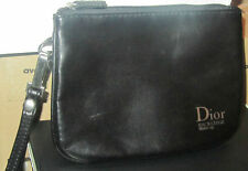 100% Genuine CDior Backstage Small Makeup Pouch/ Purse/Clutch in Black Limited