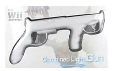 2X New Combined Light Gun for Nintendo Wii Remote Wiimote controller US Stock