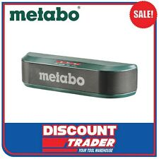 Metabo Lithium-Ion Rechargeable Bluetooth Speaker 2x5W 2Ah Battery - 657019000