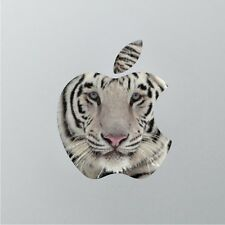 """Flag of White tiger with apple logo Macbook Air/Pro 13"""" Removable Vinyl Sticker"""