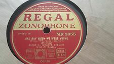 GRACIE FIELDS ONE DAY WHEN WE WERE YOUNG  REGAL ZONOPHONE MR3055