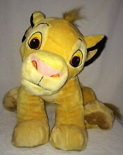 "Simba Lion King Disney Very Large Plush Toy 16"" High 29"" Long W/ Tail Just Play"