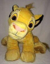 """Simba Lion King Disney Huge Jumbo Large Plush Toy 16"""" H 29"""" L Sitting Just Play"""