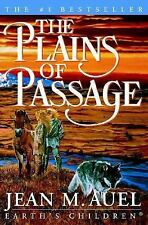 Earth's Children: The Plains of Passage Bk. 4 by Jean M. Auel (2001, Hardcover)