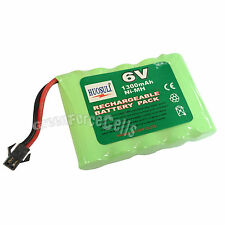 6V 5*AA 1300mAh Ni-MH Rechargeable Battery Pack Tamiya Connector For RC US Stock
