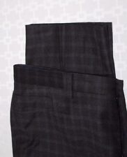 SARTORE Made in Italy Black-Gray Five Pocket Wool Super 110's Pants 36 X 30