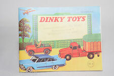 DINKY TOYS CATALOGUE KATALOG 1960 EXCELLENT CONDITION DUTCH ISSUE