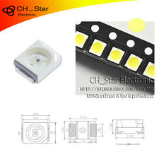 100PCS SMD SMT 1210(3528) LED Warm White Light Emitting Diodes PLCC-2 Chip