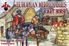RED BOX 1/72 War of the Roses European Mercenaries Light Horse NEW BOX 72054