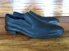 "Men's Cole Haan Nike ""Air Stratton"" Business Casual Loafers Black Leather 10.5 M"