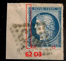 62 D3, PLANCHAGE CERES 25C TYPE I. T572