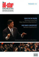 The All Star Orchestra: Programs 1 & 2 - Music for Theatre/What Makes a...