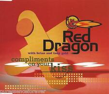 RED DRAGON with BRIAN/TONY GOULD - Compliments On Your Kiss (UK 4 Trk CD Single)