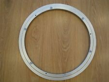 "16"" 401MM LAZY SUSAN 12MM THICKNESS ROTATING ALUMINIUM TURNTABLE BEARING NEW UK"