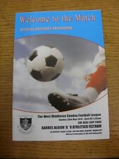 25/05/2014 West Middlesex Sunday League Keal Cup Final: Barnes Albion A v Athlet