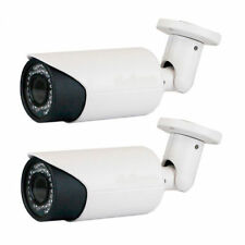 5MP PoE  IP 3D WDR Security Camera IP66 42IR (2) Weatherproof 2.8-12mm Zoom Lens