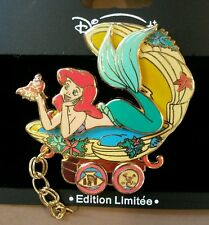 DISNEY PIN LE DLRP ARIEL SEBASTIAN LITTLE MERMAID TRAIN DISNEYLAND PARIS