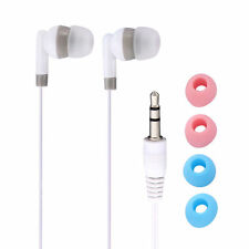 New White 3.5mm In-Ear Earbuds Earphone Headset Headphone For iPhone5 5c 5s MP4