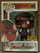 Funko Pop! TV Cassidy Bloody #368 Preacher Hot Topic Exclusive
