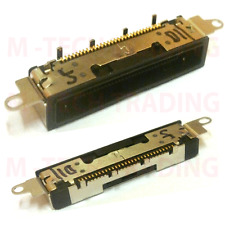 NEW 2 X IPHONE 4 4G BLACK BOTTOM CHARGING DOCK PORT CONNECTOR REPAIR PART