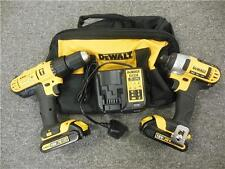 DEWALT DCZ298C2 18 VOLT CORDLESS DRILL + IMPACT DRIVER TWINPACK (RECONDITIONED)