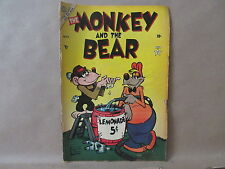 Atlas November 1953 Volume 1 #2 The Monkey and the Bear Comic Book