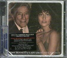 TONY  BENNETT & LADY GAGA CHEEK TO CHEEK DELUXE VERSION SEALED CD 2014 18 TRACKS
