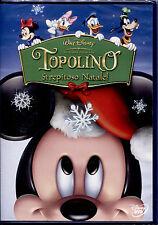 TOPOLINO STREPITOSO NATALE! - DVD, NUOVO SIGILLATO, PRIMA STAMPA Z3 DV0206