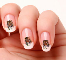 20 Nail Art Decals Transfers Stickers #241 Tiger
