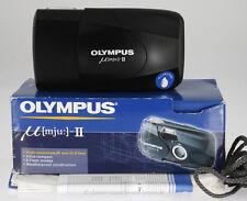 Olympus mju-II mit 35mm f2,8 Objektiv  #GB