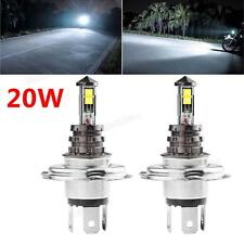 2x 20W H4 LED CREE XTE Bulb Car Fog Light DC 12V/24V 360 Degree 720LM White Lamp