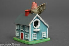 Lenox Bird House Collection Purple Finch Pottery Thimble B/123