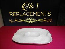"""Royal Worcester Gourmet White Crudite Dish 9.75"""" x 6.75"""""""