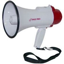 PylePro PMP35R Megaphone - 30 W Amplifier - 6 Hour to 8 Hour - ABS Housing- 30 W