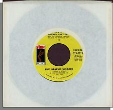 """The Staple Singers - That's What Friends Are For + City In The Sky - 7"""" Single!"""