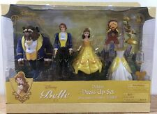 Disney Belle Magiclip Polly Pocket Deluxe Beauty & the Beast, Lumiere, Cogsworth