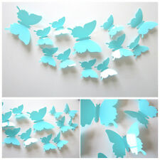 Removable 12Pcs 3D Butterfly Art Room Decor Wall Stickers Kids Room Decals FT