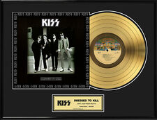 KISS - DRESSED TO KILL GOLD LP GOLDENE SCHALLPLATTE LIMITED ED. 2500 STK.
