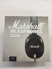 Marshall Headphones M-ACCS-00152 Monitor 3.5mm Over - Ear Headphones Black