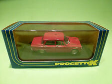 PROGETTO K 1:43  ALFA GIULIA BERLINA  1962  -  IN BOX - IN NEAR MINT  CONDITION